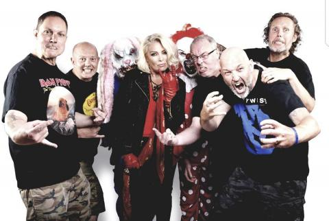Kim Wilde and Lawnmower Deth
